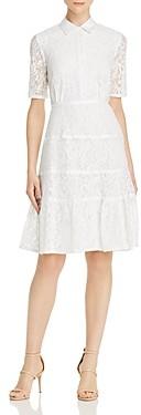 Nanette Lepore Lace Shirt Dress