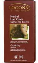 Logona Kosmetik Walnut Red-Brown Pure Vegetable Hair Color by 3.5oz Hair Color)