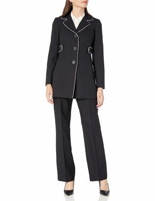 Le Suit LeSuit Women's Crepe 3 Button Pant Suit