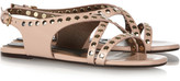 Marni Studded patent-leather sandals
