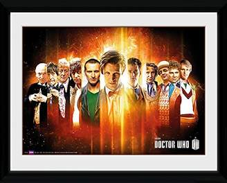 GB eye Ltd PFC567 16 x 12-inch Doctor Who Regenerate Framed Photograph, Assorted