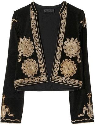 Nili Lotan Rohan Moroccan Embroidered Jacket