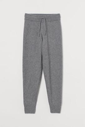 H&M Knit Joggers - Gray