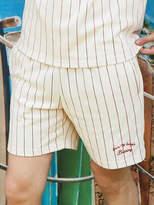 [UNISEX] Dizzee Striped Short Pants (Ivory)