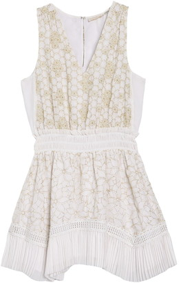 Ramy Brook Hope Embroidered Sleeveless Mini Dress