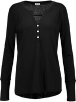 Splendid Henley Supima Cotton and Micro Modal-blend top