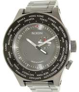 Nixon Men's Passport A379131 Grey Stainless-Steel Swiss Quartz Dress Watch