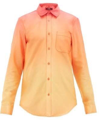 Sies Marjan Sander Degrade Satin Shirt - Orange Multi