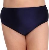 Lysa LYSA Plus-Size High-Waisted Bikini Bottom - Tinsley