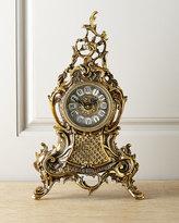 Horchow Bronze Clock