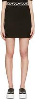 Versus Black 'VS' Miniskirt