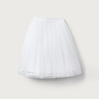 The White Company Long Tutu Skirt (1-6yrs), White, 2-3yrs