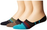 Sperry Countrymen Liner 3-Pack Men's Low Cut Socks Shoes