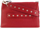 RED Valentino star studded clutch - women - Leather/Metal (Other) - One Size