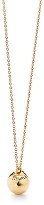 Tiffany & Co. & Co. City HardWear ball pendant in 18k gold - Size 12.75 mm