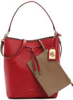 Lauren Ralph Lauren Dryden Debby Leather Shoulder Bag - Women's