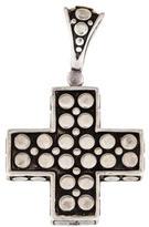 John Hardy Two-Tone Dot Cross Pendant