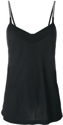 Yves Saint Laurent Pre Owned Embellished Top