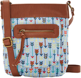 Blue Arrow Crossbody Bag