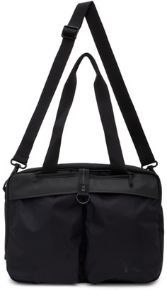 Y-3 Black Holdall Duffle Bag