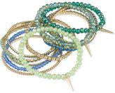 ABS by Allen Schwartz Gold-Tone 15-Pc. Set Beaded Stretch Bracelets