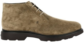 Hogan Route 393 Ankle Boots (h304 + Memory Sole In Suede