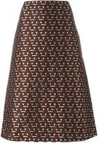Marni Magi jacquard A-line skirt - women - Silk/Cotton/Nylon/Acetate - 42