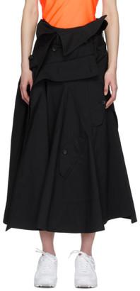 Junya Watanabe Black Trench Skirt