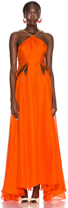 Cult Gaia Althea Dress in Coral | FWRD