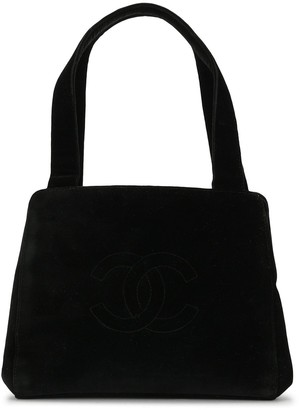 Chanel Pre Owned interlocking CC stitched tote