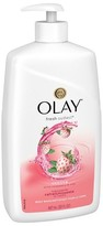 Olay Fresh Outlast Cooling White Strawberry & Mint Body Wash Pump - 30oz