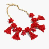 J.Crew Honeymoon tassel necklace