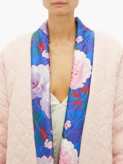 Thumbnail for your product : RIANNA + NINA Reversible Matelasse Wool And Silk Coat - Multi