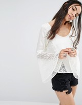 Band of Gypsies Blouse with Lace Inserts