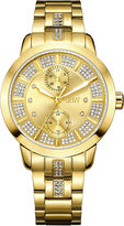 JBW Women's Lumen 0.06 ctw Diamond 18k gold-plated stainless-steel Watch J6341F