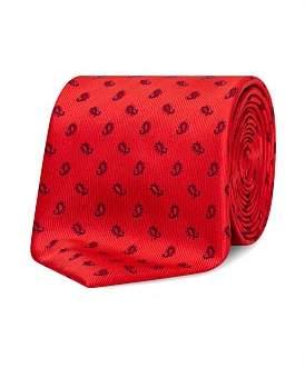 Van Heusen Red Paisley Tie