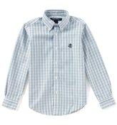 Brooks Brothers Little/Big Boys 4-20 Button-Down Windowpane Shirt