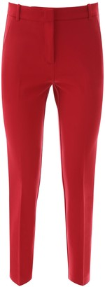 Pinko Cropped Cigarette Trousers