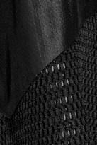 Antonio Berardi Flared mesh dress