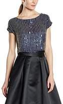 Coast Women's Bella Marie Embellished Short Sleeve Blouse
