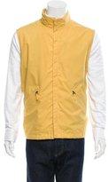 Luciano Barbera Woven Zip-Up Vest