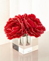John-Richard Collection John Richard Collection Sparkling Peonies Faux Floral Arrangement