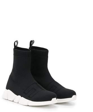 Elisabetta Franchi La Mia Bambina sock-style high trainers