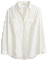 Alex Mill Oversized Garment Dyed Shirt in White