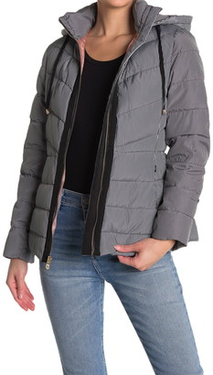 Kate Spade Hooded Quilted Puffer Jacket