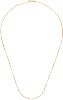 Tom Wood Gold Ball Chain Necklace