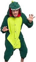 ilver Lilly Adult Pajama - One Piece Coplay Animal Cotume (Dinoaur,)