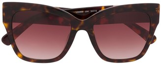 Longchamp tortoiseshell frame sunglasses
