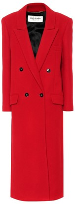 Saint Laurent Cashmere and wool coat
