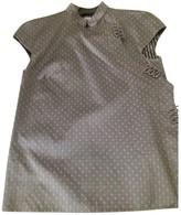 Christian Dior Grey Silk Top for Women